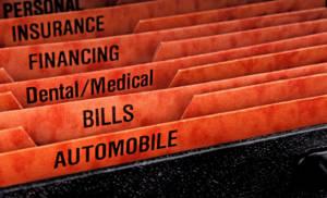 financial file folder