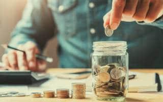 saving coin money